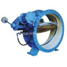 Butterfly Buffering Check Valve